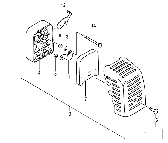 Air Filter Assembly, 47cc